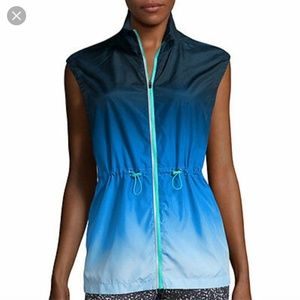 Xersion Aqua Ombre Vest, size L